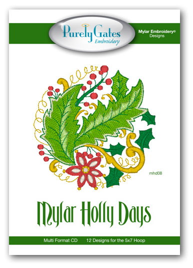 Mylar Holly Days