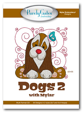 Dogs 2 with Mylar
