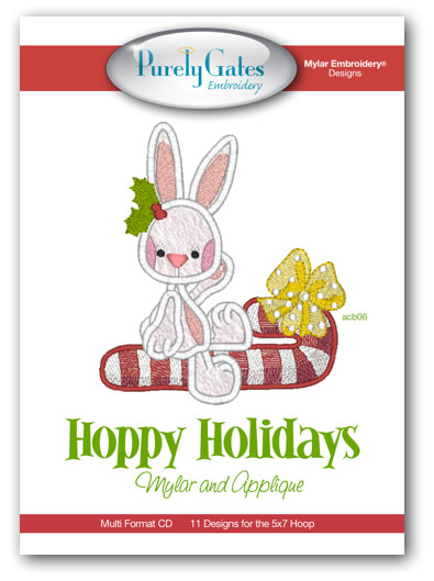 Hoppy Holidays Mylar and Applique