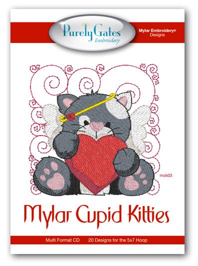 Mylar Cupid Kitties