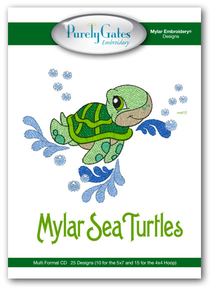 Mylar Sea Turtles