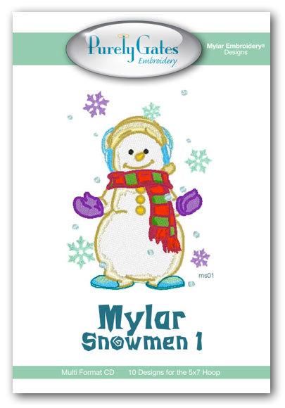 Mylar Snowmen 1