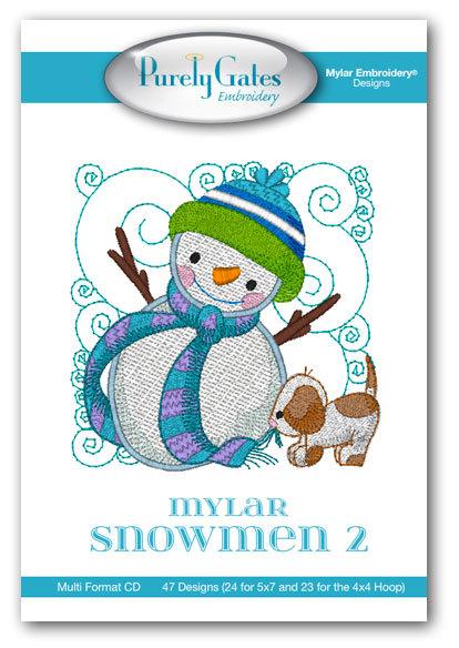 Mylar Snowmen 2