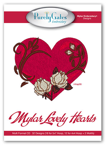 Mylar Lovely Hearts