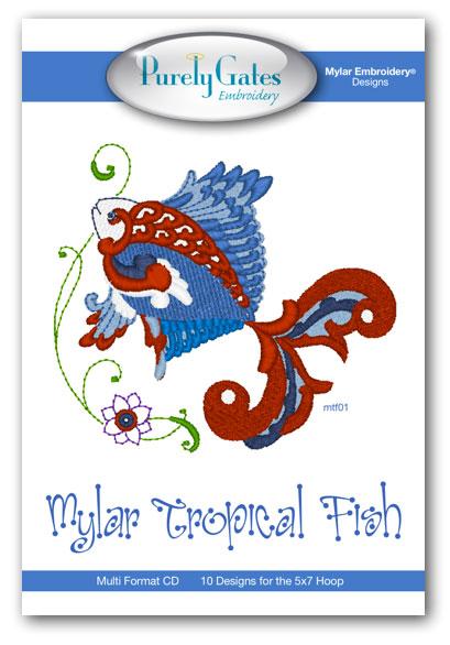 Mylar Tropical Fish