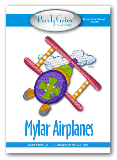 Mylar Airplanes