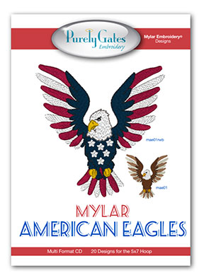 Mylar American Eagles