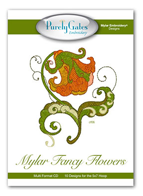 Mylar Fancy Flowers