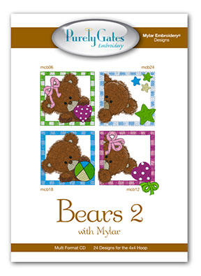 Bears 2 with Mylar