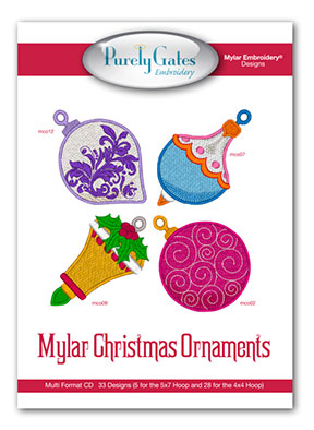 Mylar Christmas Ornaments