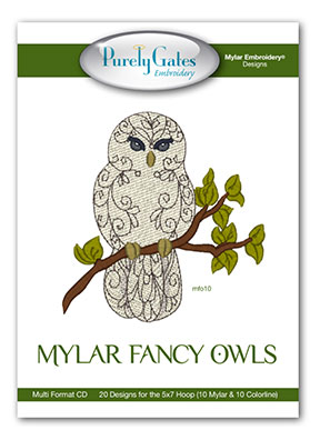 Mylar Fancy Owls