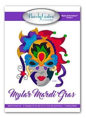 Mylar Mardi Gras