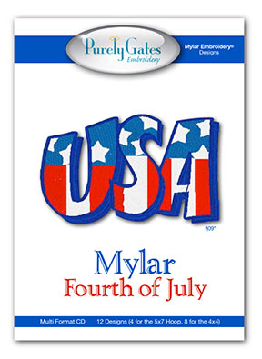 Mylar Fourth of July