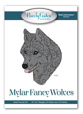 Mylar Fancy Wolves