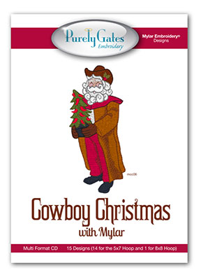 Cowboy Christmas with Mylar