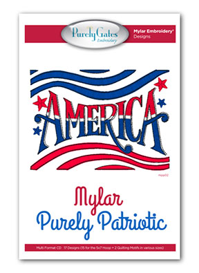 Mylar Purely Patriotic