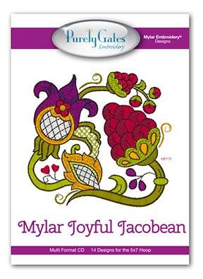 Mylar Joyful Jacobean