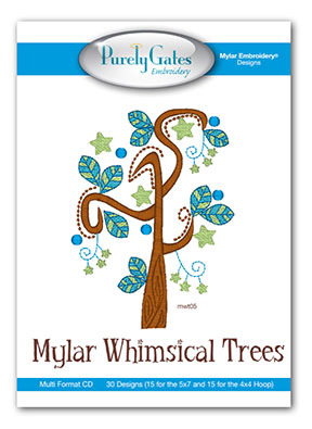 Mylar Whimsical Trees