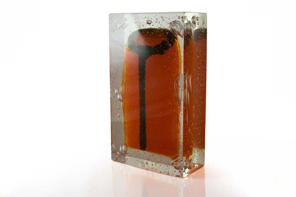'Ancestor 3' - Kiln Cast Glass