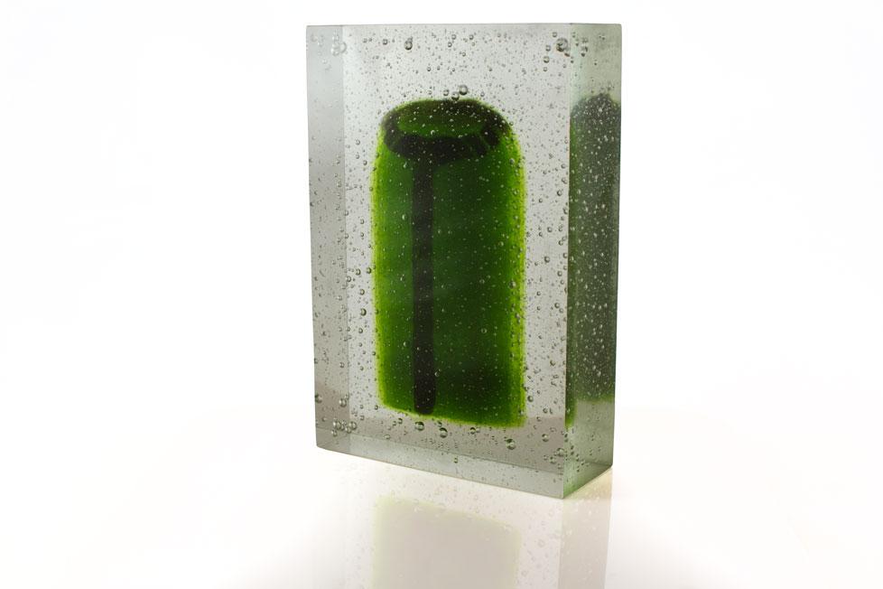 'Ancestor 1' - Kiln Cast Glass