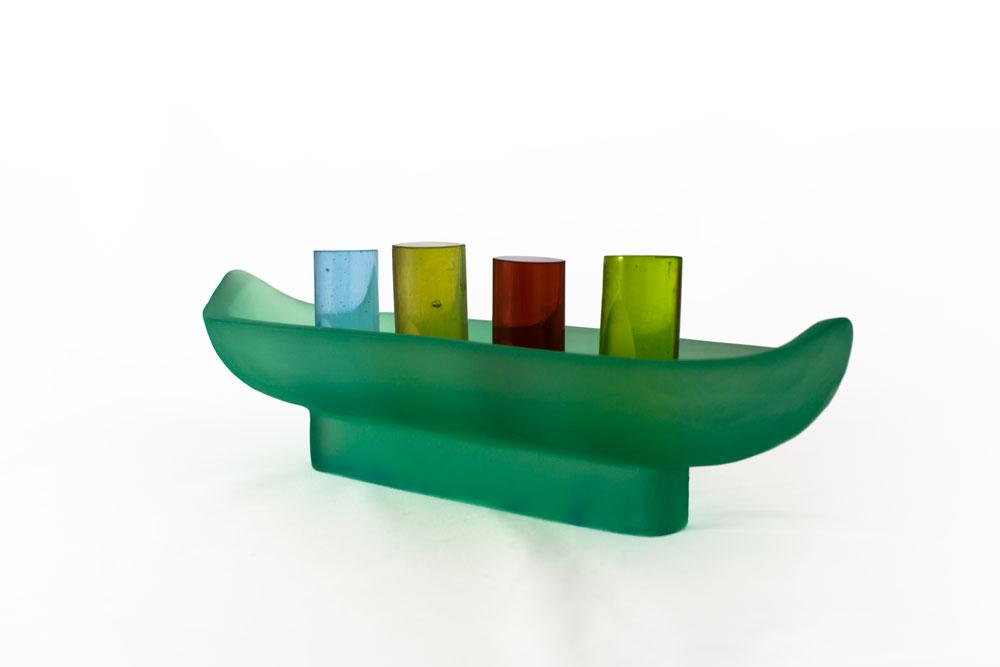 'Journey' Series - Kiln Cast Glass