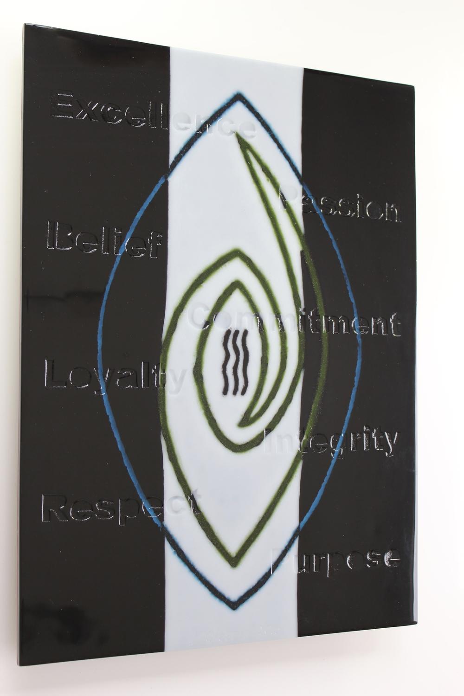 'Guidance 1' - Kiln Formed Glass
