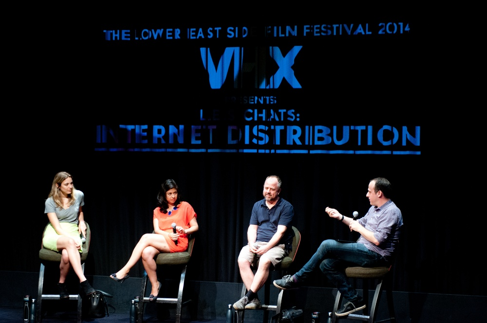 Internet Distribution Panel hosted by VHX · 6.19.14