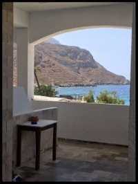 View from my  Alkyonis  balcony on Kalymnos