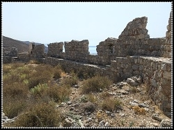 Walls of the fortress - Chorio Castle