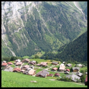 "Gimmelwald, Switzerland ""If heaven is not what it's cracked up to be, send me back to Gimmelwald - Rick Steves"