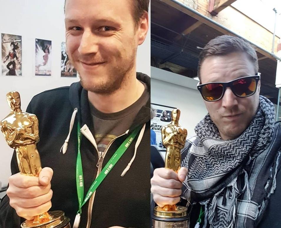 Academy Awards for work at DNeg