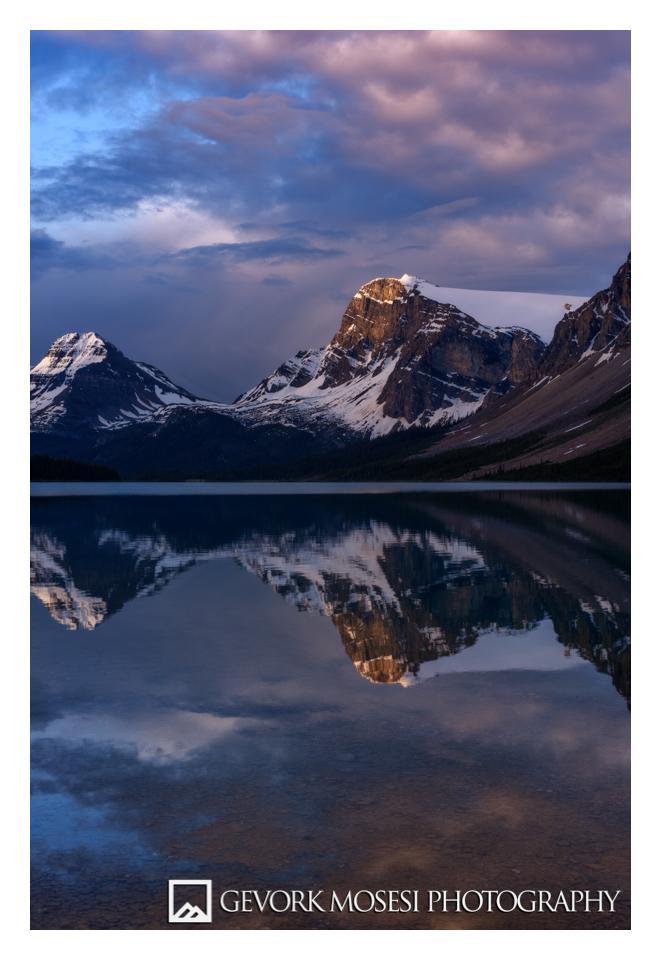 gevork_mosesi_photography_banff_alberta_landscape_bow_lake_sunrise_reflection-6.jpg