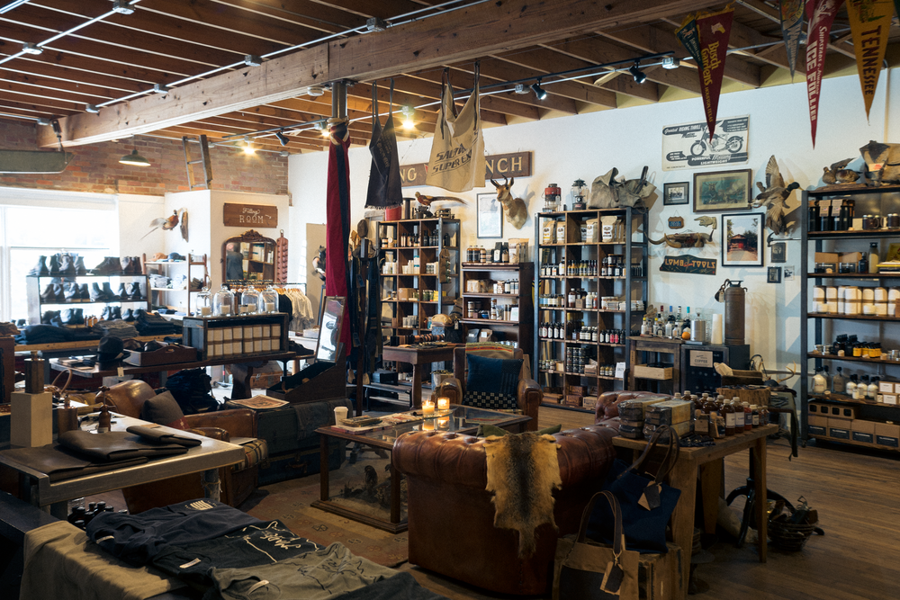 Manready Mercantile flagship store in Houston, Texas