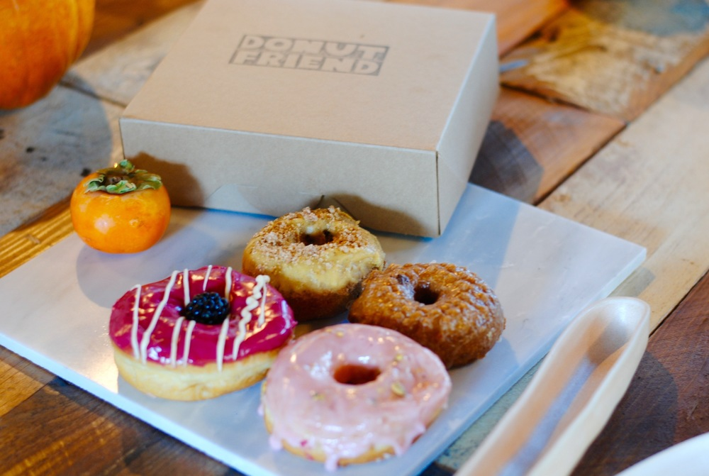 We've a love too much/hate the aftermath relationship with our Highland Park neighbor  Donut Friend