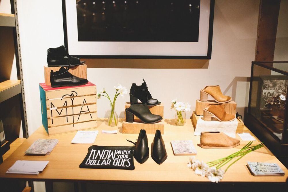 Wal & Pai The MiA Project pop-up at Shinola Silverlake