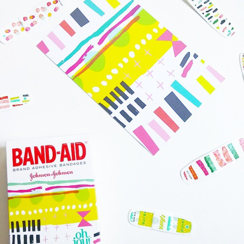 Blogger and designer Oh Joy's collaboration with BAND-AID