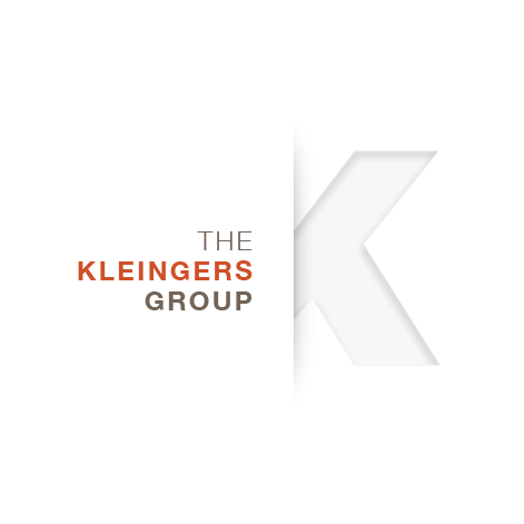 The Kleingers Group Logo Engineering, design + build, architecture, construction