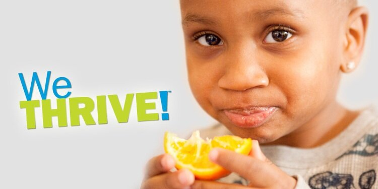 "WeThrive! Campaign Elements. Marketing campaign for the Hamilton County Public Health board and part of Michelle Obama's ""Let's Move!"" childhood wellness initiative."
