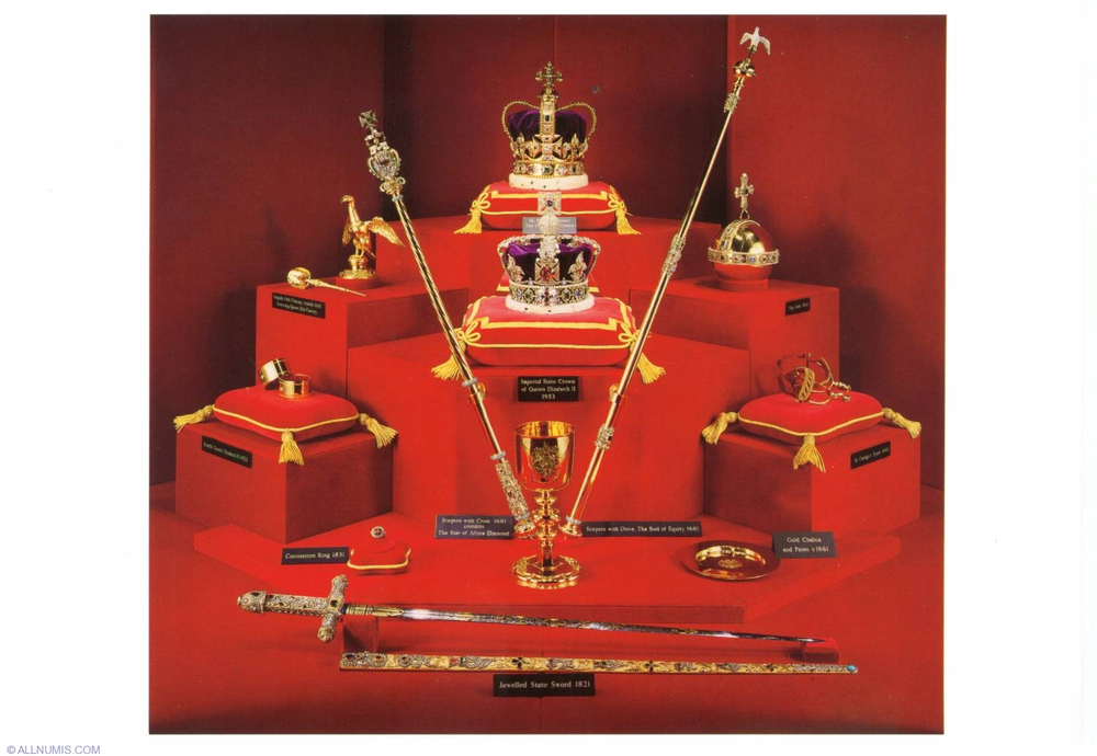 The Crown Jewels of Great Britain