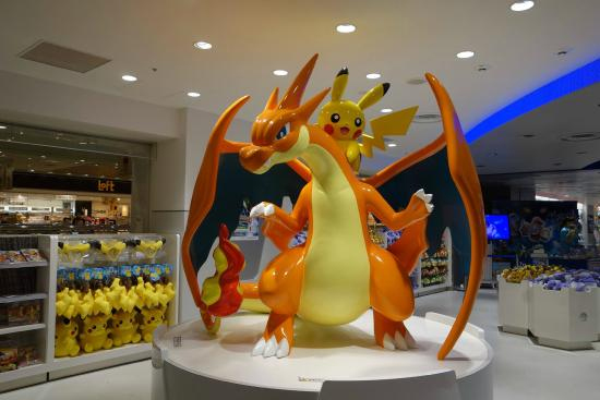 Statue of Mega Charizard