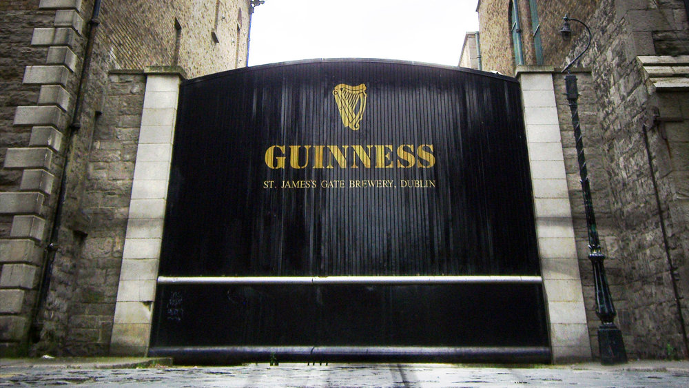 The Guinness Gate