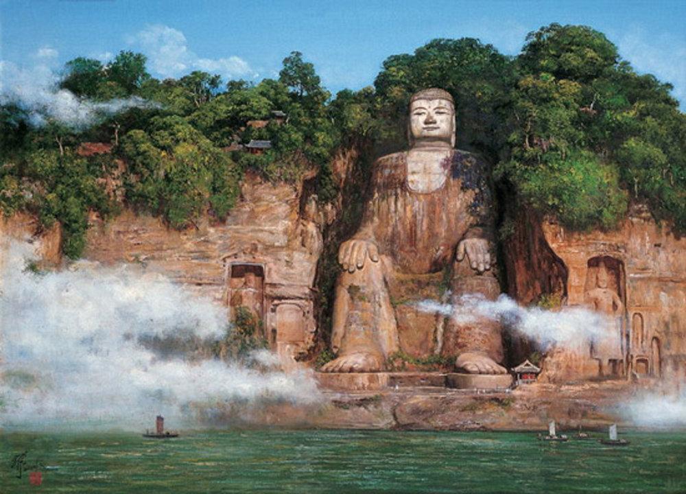 The Leshan Grand Buddha