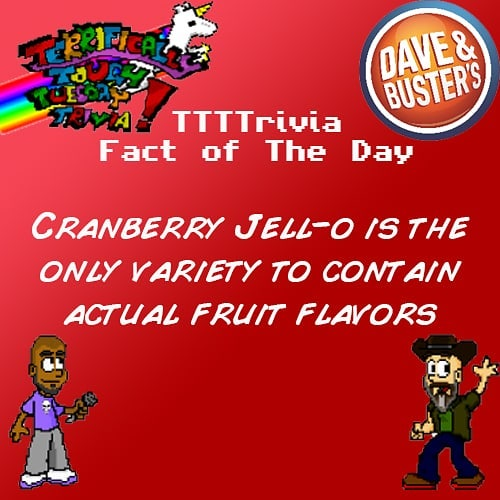 Don't worry #ttttrivia is always #allnatural every #tuesdaynight 9pm at #daveandbustershollywood  #tuesdaytrivia #lalife #hollywoodnightlife #trivia #jello #lanightlife #hollywood #trivianight #DnBLA #daveandbustersla