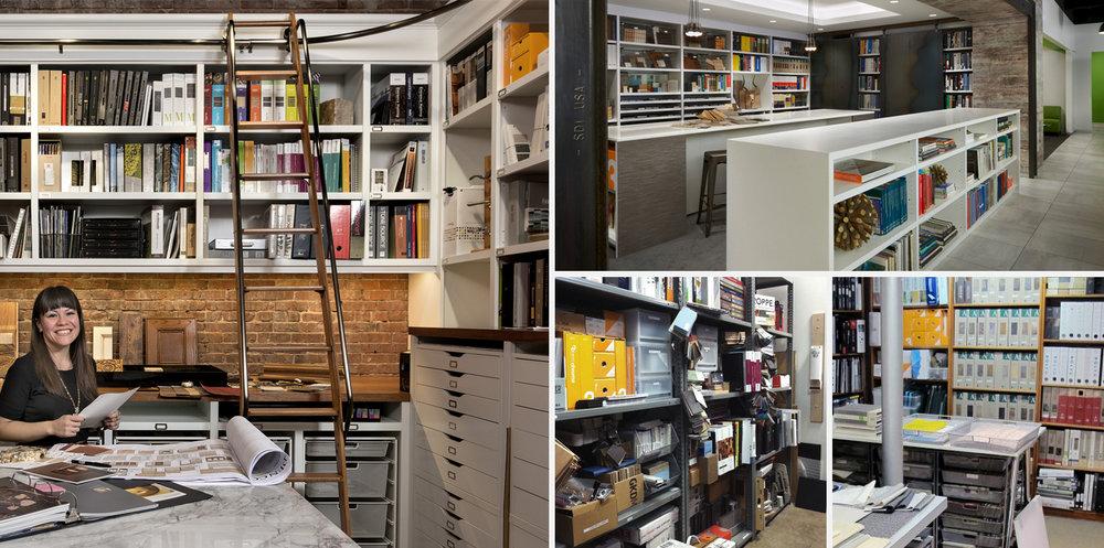 Material libraries