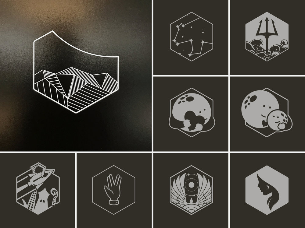 Meeting room icons