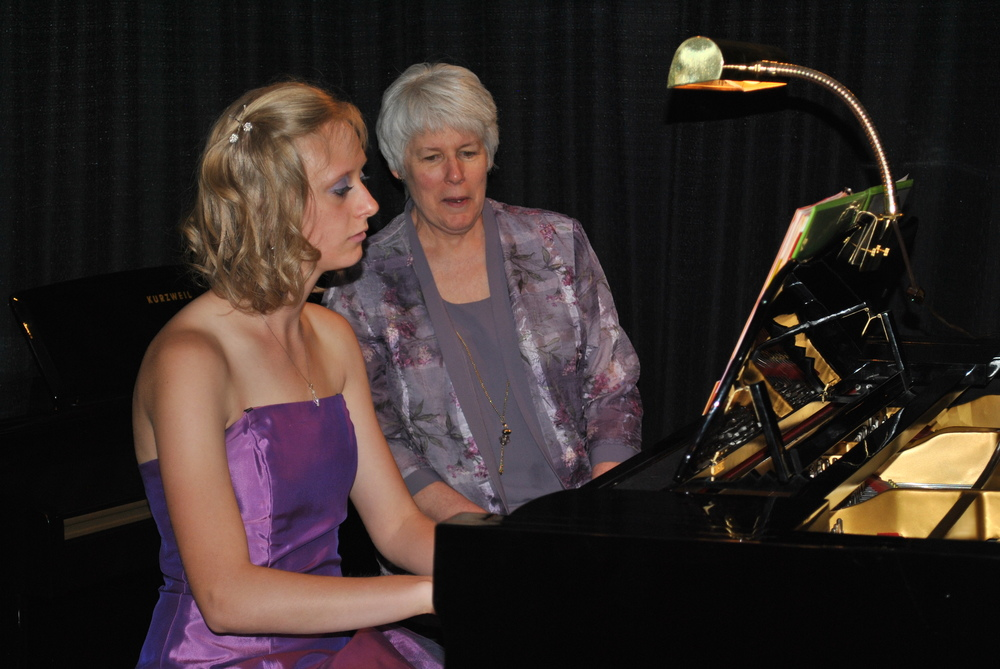 Valerie Lesser performs her Senior Recital on April 27, 2014