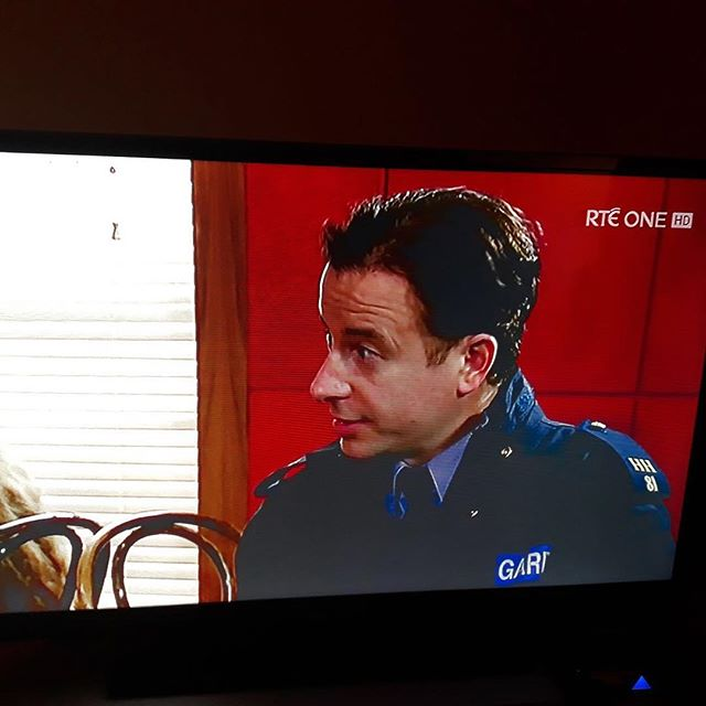 """There's been a complaint""... Fair City's cult has a new harasser...and I lost my hat. #faircity #gardadoran"