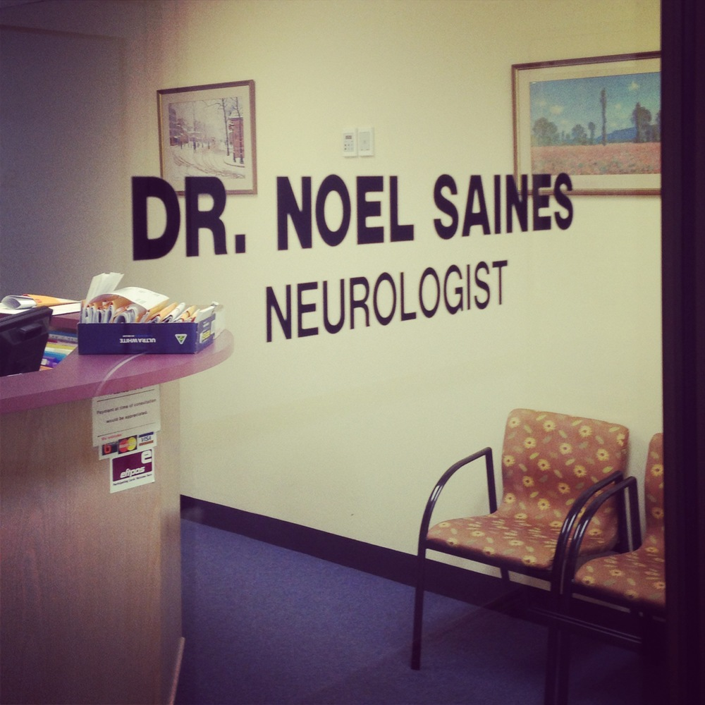 The amazing Neurologist who is helping me through this diagnosis