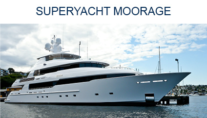 SUPERYACHT MOORAGE