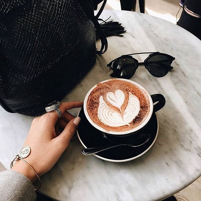 Would never start our morning without a cup of coffee ☕️ #coffee #monday #goodmorning #dior #paris #sunglasses #coffeeaddicts #wvf #dubai